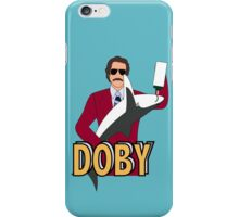 Ron Burgundy and Doby iPhone Case/Skin