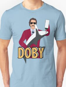Ron Burgundy and Doby Unisex T-Shirt