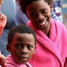 Girls in Pink Pajamas by kimwild