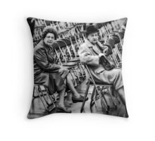 Early Arrivals Throw Pillow
