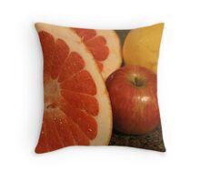 One Big Grapefruit! Throw Pillow