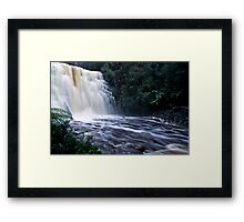 Dipp Fall Framed Print
