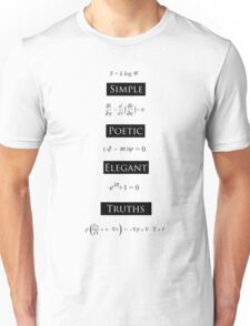 Simple Poetic Elegant Truths T-Shirt