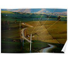Blowhard Road - Benambra, Australia Poster