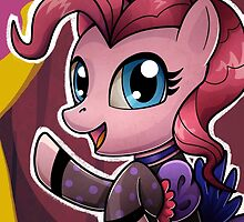 Can Can Pinkie by Christa Diehl