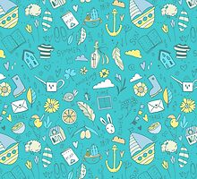 Summer travel pattern by olarty