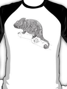 Karma Chameleon Zentangle T-Shirt