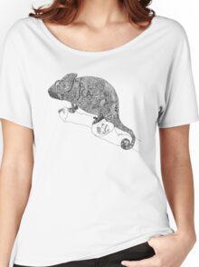 Karma Chameleon Zentangle Women's Relaxed Fit T-Shirt