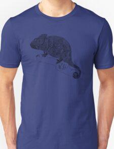 Karma Chameleon Zentangle Unisex T-Shirt