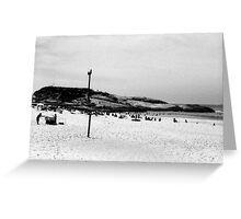 Arpoador Beach Greeting Card