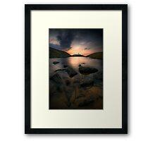Strathy Point Lighthouse, Caithness, Scotland Framed Print
