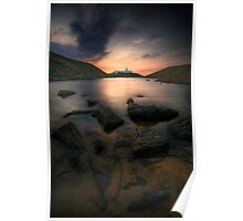 Strathy Point Lighthouse, Caithness, Scotland Poster