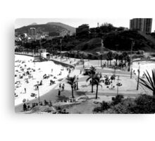 Arpoador Square, Rio de Janeiro, Brazil Canvas Print