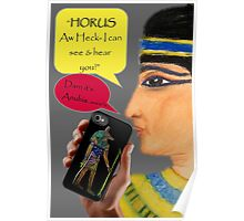 Cleopatra goes iPhone Poster
