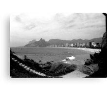 Arpoador Rocks and Ipanema Beach Canvas Print
