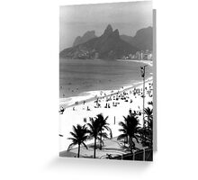 Ipanema Beach Greeting Card