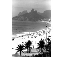 Ipanema Beach Photographic Print