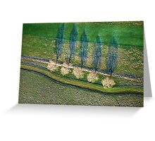 Aerial Puzzle Greeting Card