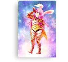 COCA COLA BUNNY GIRL! Canvas Print