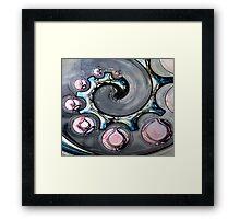 coil Framed Print