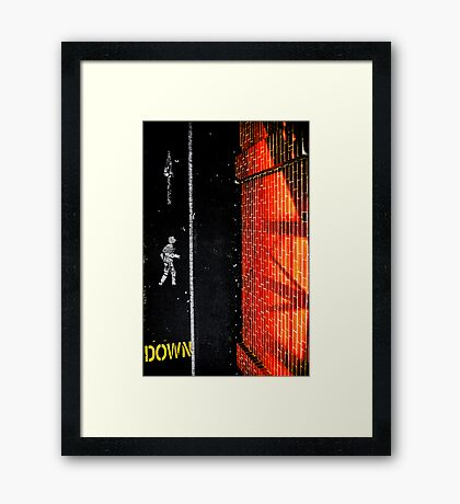 Where are you heading? Framed Print
