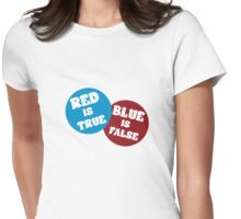 True or False Womens Fitted T-Shirt
