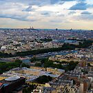 Paris panorama by 10dier