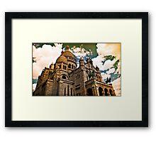 Montmartre_Paris Framed Print