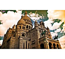 Montmartre_Paris Photographic Print