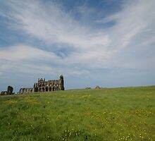 Whitby Abbey, North Yorkshire, England by Trevor Needham