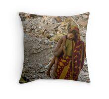 Bombay the hard way Throw Pillow