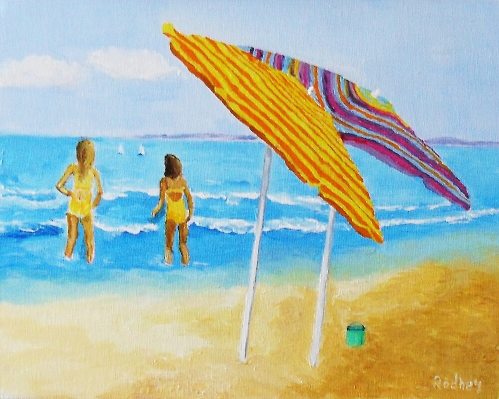 On The Beach by Rodney Campbell