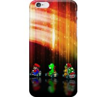 Super Mario Kart pixel art iPhone Case/Skin