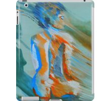Blues blown away iPad Case/Skin