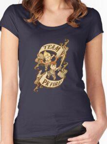 Team PK Fire Women's Fitted Scoop T-Shirt