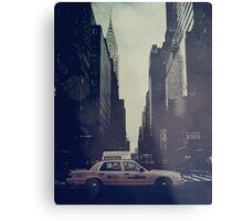 Vintage NYC Metal Print