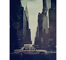 Vintage NYC Photographic Print