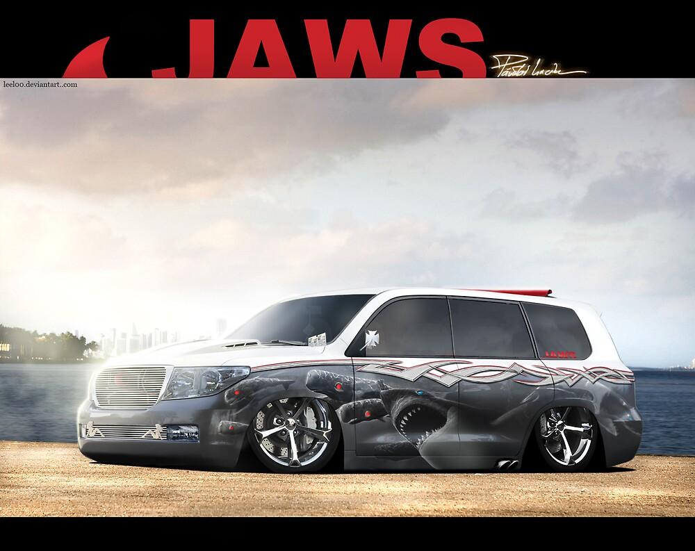 Toyota Land Cruiser Canvas  by Lilu