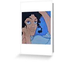 Grecian Sheila Greeting Card