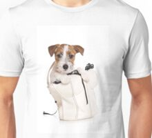 Jack Russell Terrier puppy in a bag Unisex T-Shirt