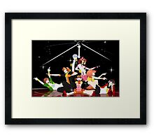 Dancing All Night Framed Print