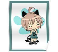 Mew Mew Chibi Cat Poster