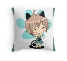 Mew Mew Chibi Cat Throw Pillow