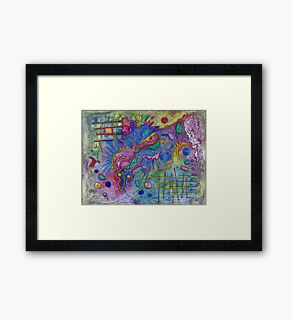 Dragon Claws Framed Print