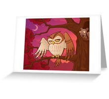 Mister Owley Greeting Card