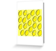 Lemongrab Greeting Card
