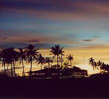 Sunset in Harmon, Guam  by Hiroshi  Maeshiro