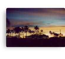 Sunset in Harmon, Guam  Canvas Print