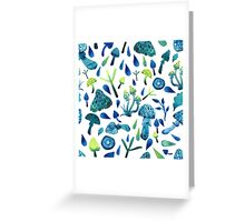 - Mushrooms pattern - Greeting Card