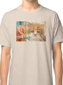 Raindrops on Roses and Whiskers on Kittens Classic T-Shirt